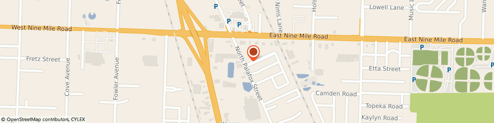Route/map/directions to Hornsby Mickey Insurance Agency, 32534 Pensacola, 9258 N Palafox St