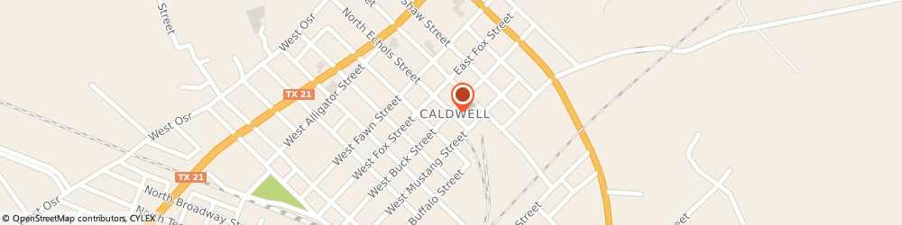 Route/map/directions to Progressive Insurance, 77836 Caldwell, 204 S Echols