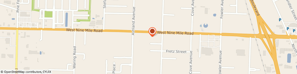 Route/map/directions to Madril Insurance, 32534 Pensacola, 1259 W Nine Mile Rd