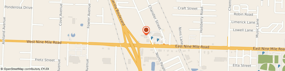 Route/map/directions to Robert O Neil: Allstate Insurance, 32534 Pensacola, 40 W Nine Mile Rd