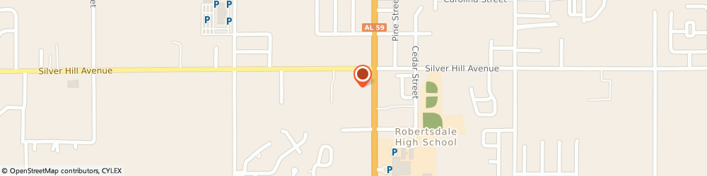 Route/map/directions to Jackson Hewitt Tax Service, 36567 Robertsdale, 21951 STATE HIGHWAY 59, UNIT H