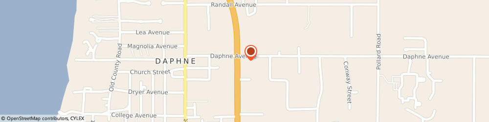 Route/map/directions to Hancock Bank, 36526 Daphne, 1712 us Hwy 98