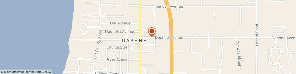 Route/map/directions to Nicholas Jr, e Tyler, Cpa - e Tyler Nichols Jr Cpa Llc, 36526 Daphne, 809 DAPHNE AVE, # B1