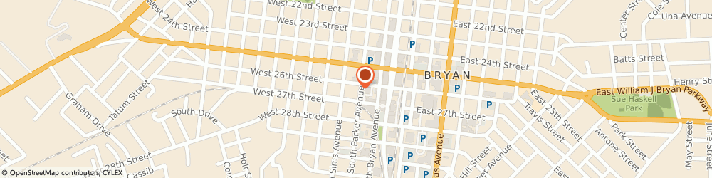 Route/map/directions to Honest Dental Associates, 77803 Bryan, 301 West 26Th Street