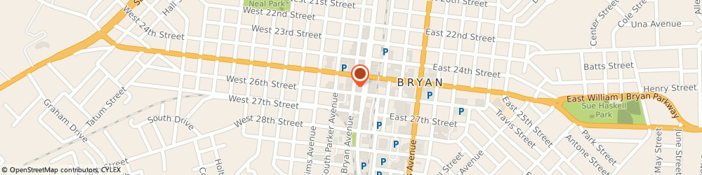 Route/map/directions to Medical Center Pharmacy, 77803 Bryan, 200 WEST 26TH STREET