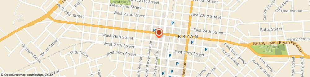 Route/map/directions to Brazos Trader Antiques, 77803 Bryan, 210 WEST 26TH STREET