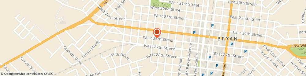 Route/map/directions to Arsenal Tattoo & Design, 77803 Bryan, 307 West 26th Street