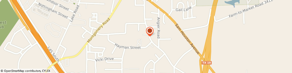 Route/map/directions to Huntsville Family YMCA, 77340 Huntsville, 2906 Old Houston Road