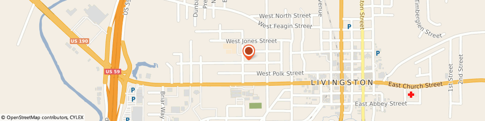 Route/map/directions to Beltone Hearing Aids, 77351 Livingston, 614 NORTH WILLIS AVENUE