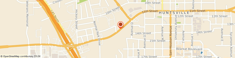 Route/map/directions to Firestone Complete Auto Care, 77340 Huntsville, 1716 11Th St