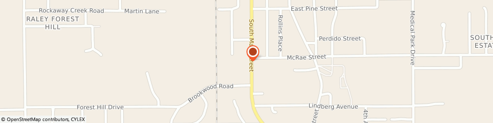 Route/map/directions to O'reilly Auto Parts, 36502 Atmore, 1304 South Main Street