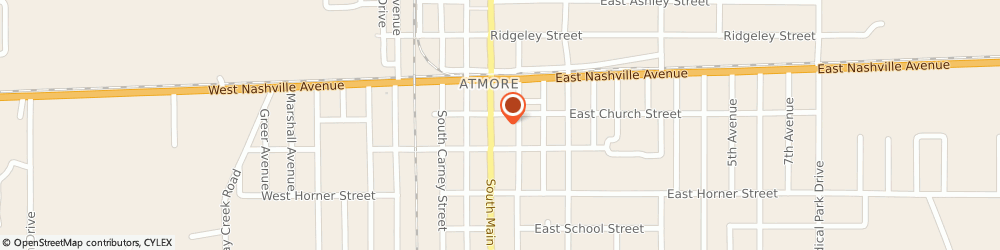 Route/map/directions to Navy Federal Credit Union ATM, 36502 Atmore, 201 S Main St