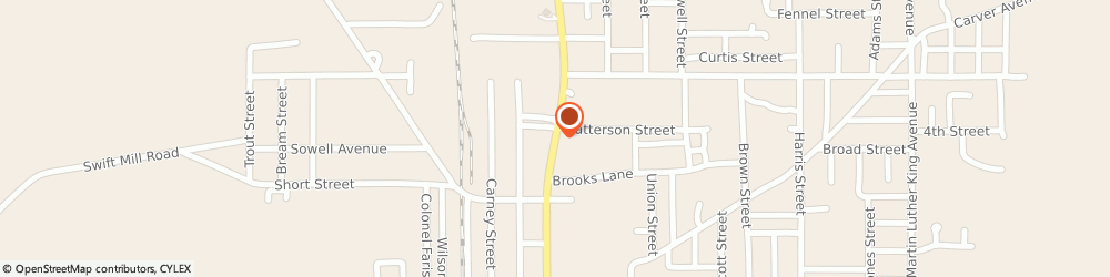 Route/map/directions to Firestone Retailer, 36502 Atmore, 516 N. Main Street