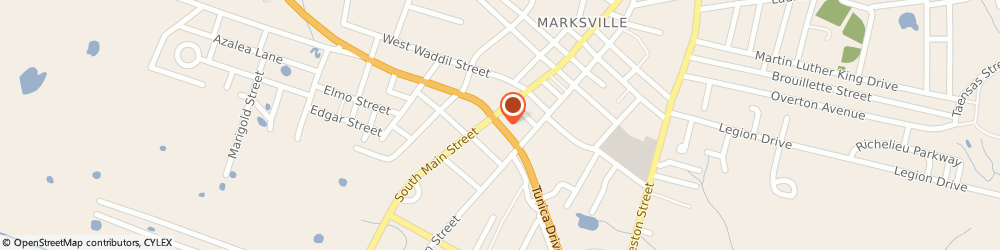 Route/map/directions to First Insurance Marksville, 71351 Marksville, 121 S Main St