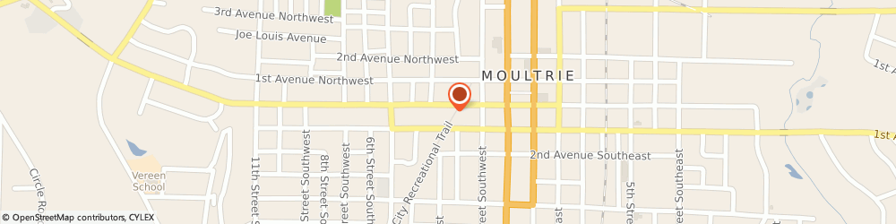 Route/map/directions to Advance Auto Moultrie, 31768 Moultrie, 203 W Central Ave