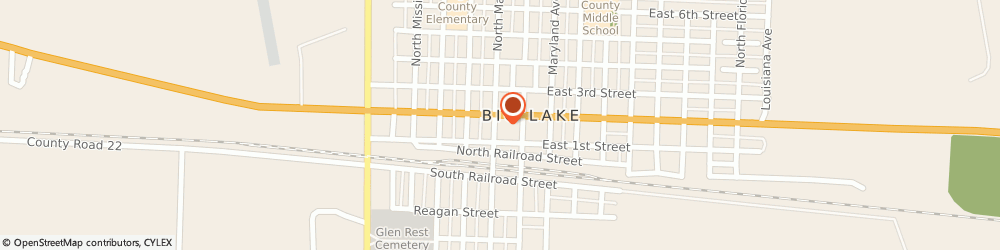 Route/map/directions to Neighborhood Pharmacy, 76932 Big Lake, 116 North Main Avenue
