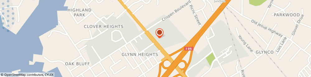 Route/map/directions to Comfort Inn i-95 North, 31523 Brunswick, 5308 New Jesup Highway