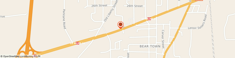 Route/map/directions to CITGO V.k.quick Mart, 39648 Mccomb, 610 W. Presley