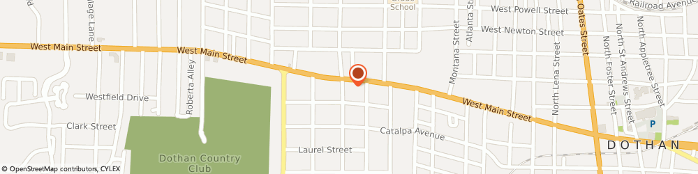 Route/map/directions to BBVA Bank, 36301 Dothan, 1263 W Main St