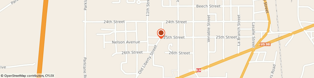 Route/map/directions to Post 4934 Coleman - Trantham Post, 39649 Mccomb, Po Box 1635, 907 25Th St