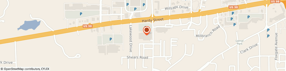 Route/map/directions to Lowe's Home Improvement, 39402 Hattiesburg, 6004 US Hwy 98