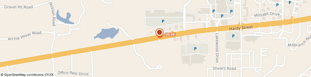 Route/map/directions to Cavender?s Western Outfitter, 39402 Hattiesburg, 6112 Us Hwy 98