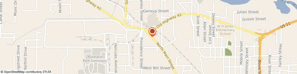 Route/map/directions to Southern Pipe and Supply Co, 39401 Hattiesburg, 1526 N MAIN ST
