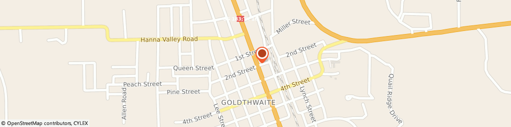 Route/map/directions to Citibank ATM, 76844 Goldthwaite, 1301 Fisher