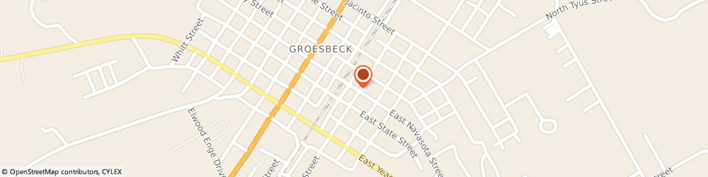 Route/map/directions to Farmers Insurance Of Groesbeck, 76642 Groesbeck, 101 W NAVASOTA ST