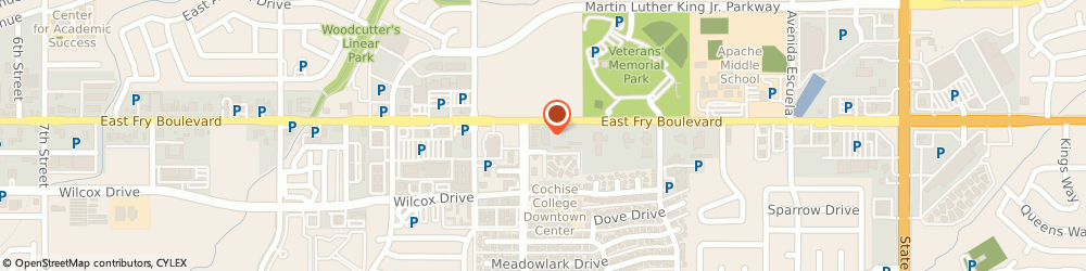Route/map/directions to Guild Mortgage Company, 85635 Sierra Vista, 2700 E Fry Blvd