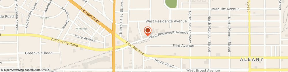 Route/map/directions to North American Van Lines, 31701 Albany, 913-915 Roosevelt Ave.