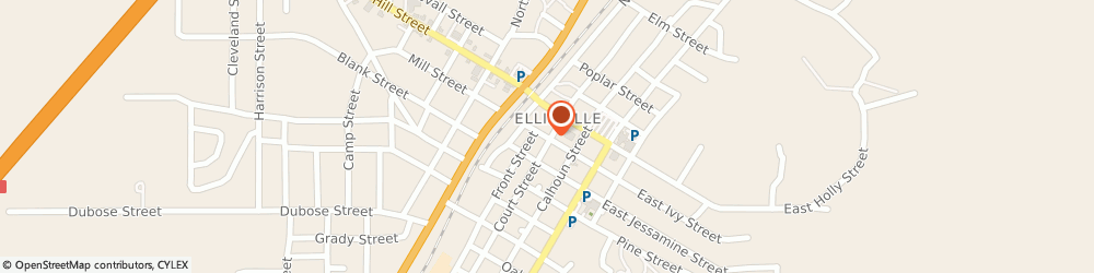 Route/map/directions to Curves For Women Ellisville, 39437 Ellisville, 103 WEST IVY STREET