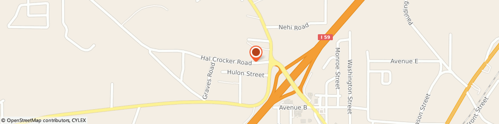 Route/map/directions to Alfa insurance, 39437 Ellisville, 87 Hal Crocker Rd.