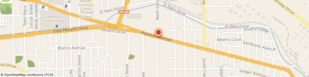 Route/map/directions to Advance Auto Parts, 79905 El Paso, 5660 Alameda Ave