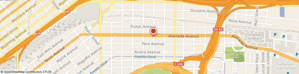 Route/map/directions to A E L Beansprout LLC, 79905 El Paso, 3320 Alameda Ave