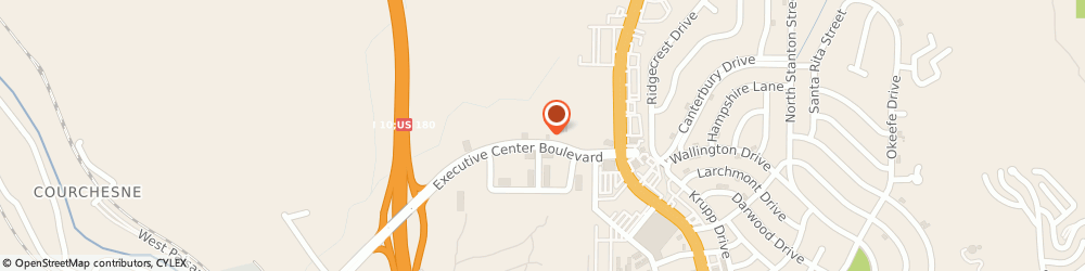 Route/map/directions to Flor and Associates Ins Agy, 79902 El Paso, 421 Executive Center Blvd, B