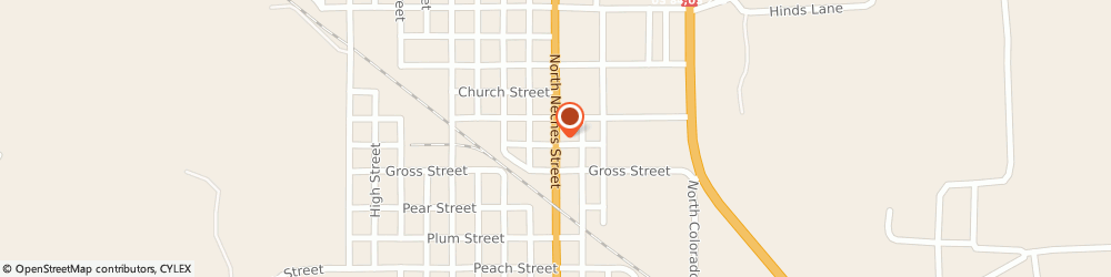 Route/map/directions to CITIBANK ATM, 76834 Coleman, 716 N. Neches St.