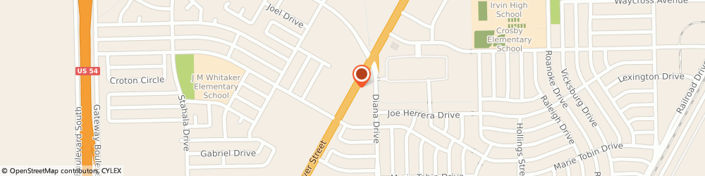 Route/map/directions to Brake Masters, 79924 El Paso, 9303 Dyer St