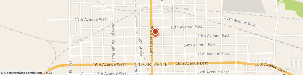 Route/map/directions to Firestone Retailer, 31015 Cordele, 309 Seventh Street, South