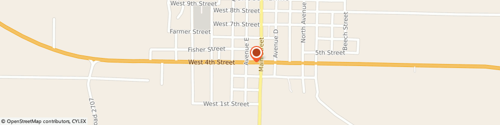 Route/map/directions to CITIBANK ATM, 76443 Cross Plains, 241 Sw 5Th St.