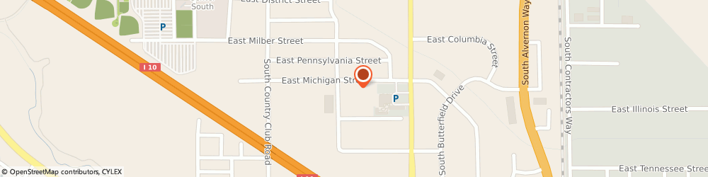 Route/map/directions to Blackstone Design, 85714 Tucson, 3330 EAST MICHIGAN STREET SUITE 27