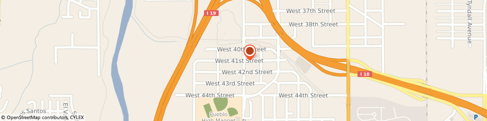 Route/map/directions to Gonzvar Tax Service, 85714 Tucson, 4107 South 12th Ave