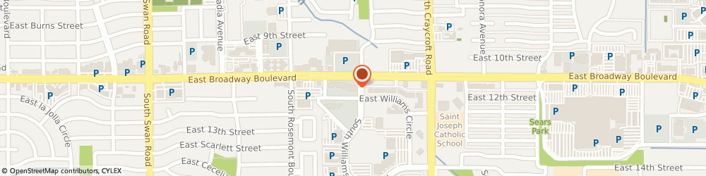 Route/map/directions to Blue Cross Blue Shield Of Arizona - Customer Service Blue Select Only, 85711 Tucson, 5285 EAST WILLIAMS CIRCLE SUITE 1000