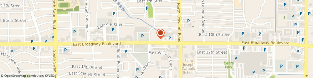 Route/map/directions to Blake Insurance Group LLC, 85711 Tucson, 5315 E Broadway Blvd, Ste 207