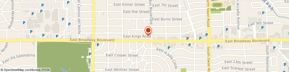 Route/map/directions to Toni's Healing Arts, 85711 Tucson, 4245 E Kings Rd