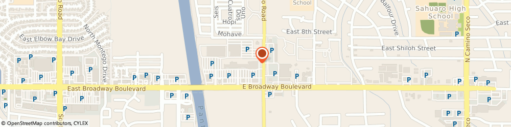Route/map/directions to Farmers Insurance - Michael Parks, 85710 Tucson, 105 N Pantano Rd