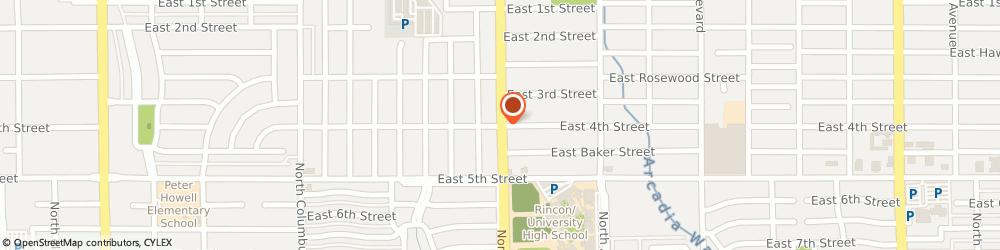 Route/map/directions to American Family Insurance - Agents, Intrieri Kenneth, 85711 Tucson, 701 NORTH SWAN ROAD