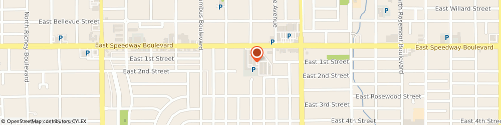 Route/map/directions to American Family Insurance, 85712 Tucson, 4500 E SPEEDWAY BLVD STE 42A