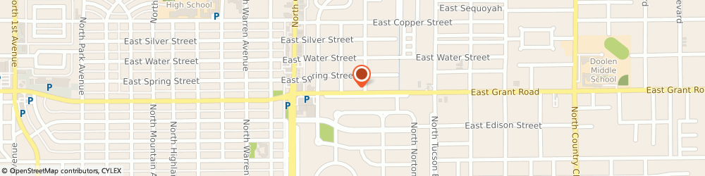 Route/map/directions to Farmers Insurance - Elizabeth Brader, 85719 Tucson, 2117 E Grant Rd
