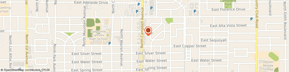 Route/map/directions to STATE FARM Paul Heiser, 85719 Tucson, 2654 N Campbell Ave